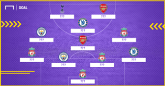 EPL Best XI so far