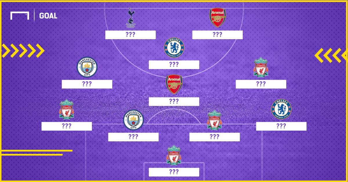EPL Best XI so far