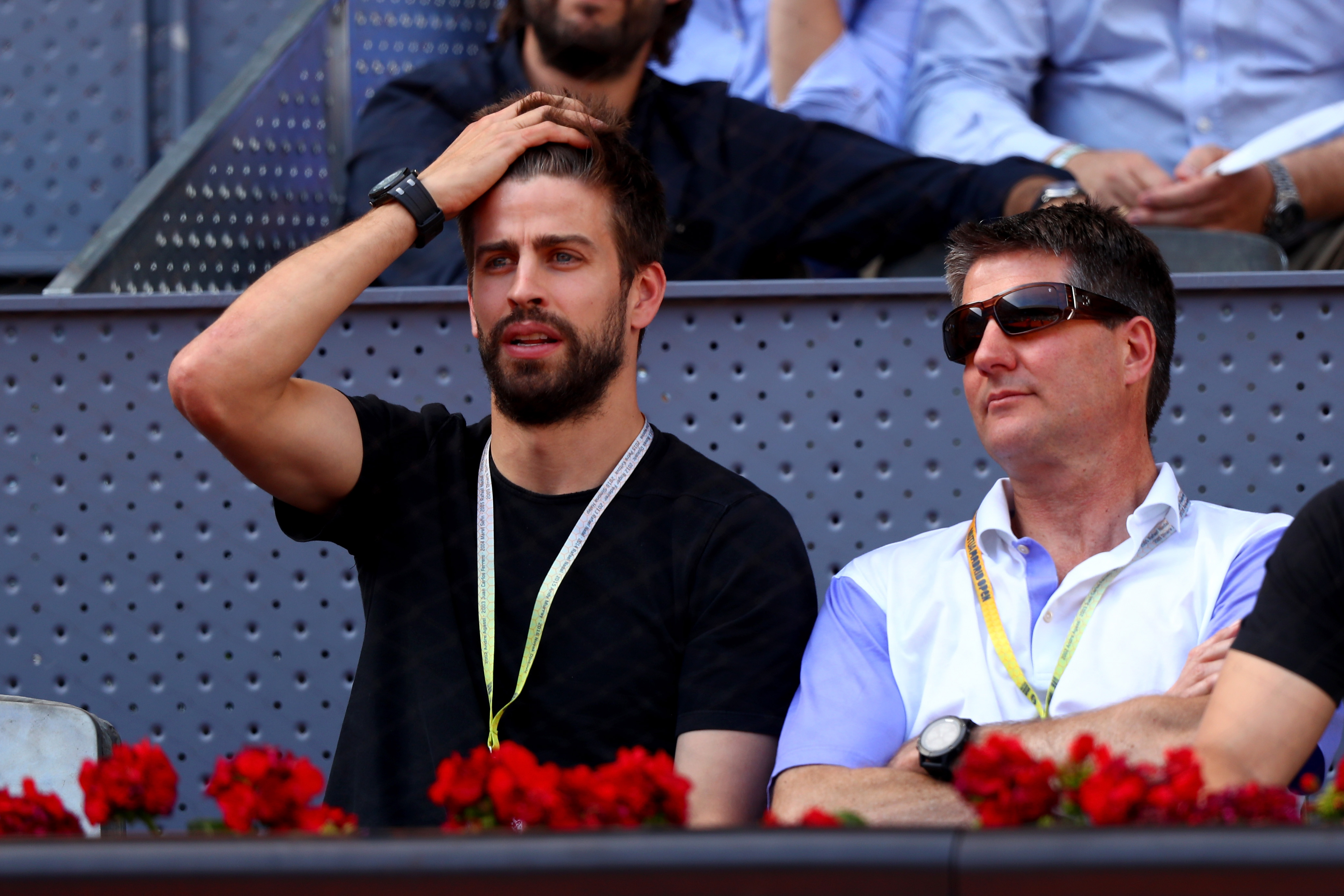 Pique Madrid Open tennis