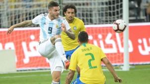 Mauro Icardi Argentina Brasil Amistoso internacional 16102018