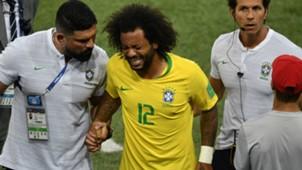 Marcelo Brazil Serbia World Cup 2018