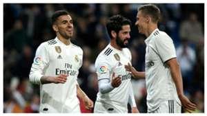 Dani Ceballos Isco Llorente Real Madrid Huesca LaLiga