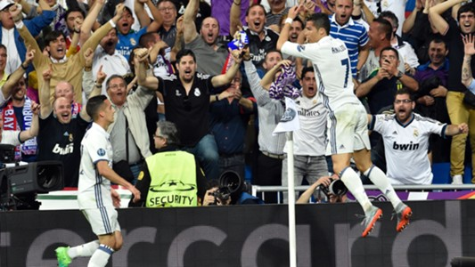 Cristiano Ronaldo Real Madrid Champions League 18042017