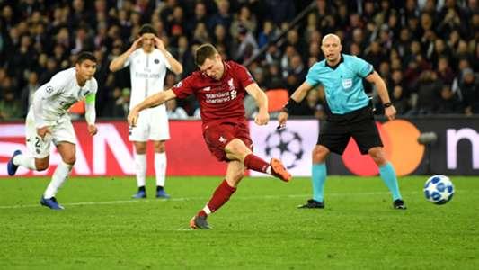 James Milner PSG Liverpool 28112018