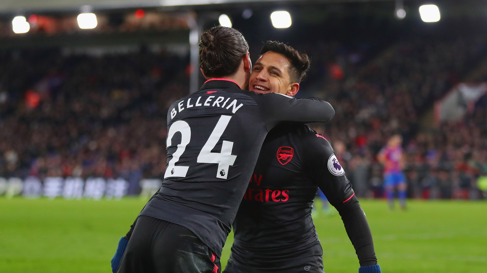 Hector Bellerin Alexis Sanchez Arsenal