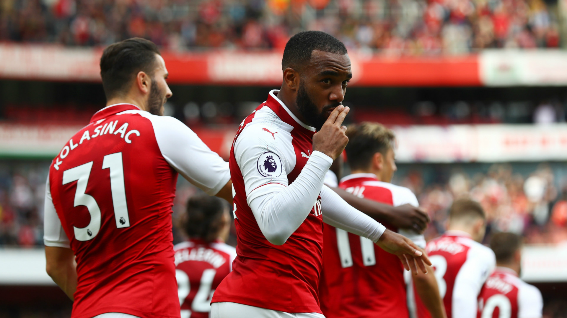 Alexandre Lacazette Arsenal Bournemouth Premier League