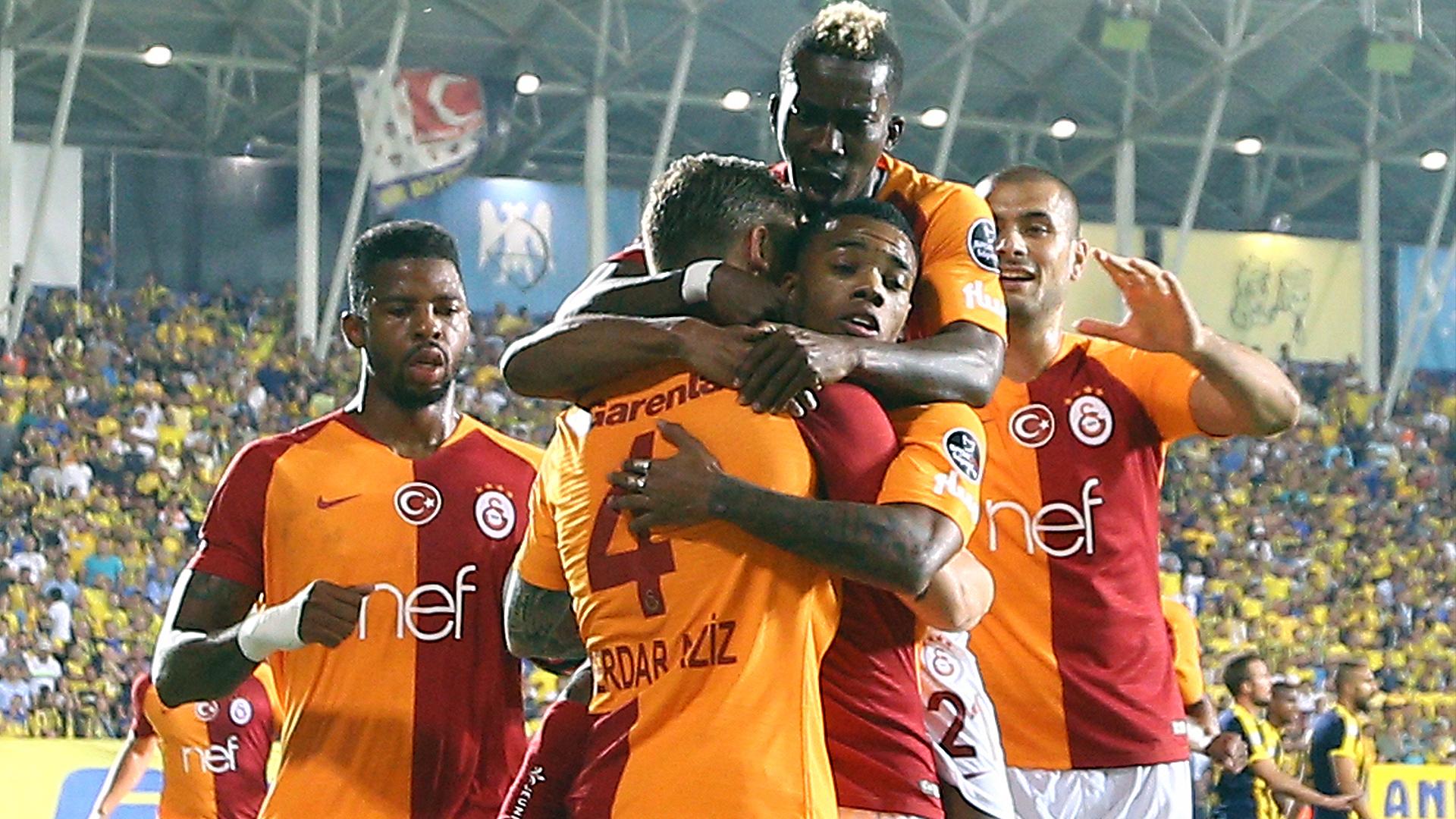 Ankaragucu Galatasaray goal celebration 08102018