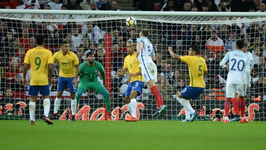 Eric Dier Miranda England Brazil Friendly 14112017
