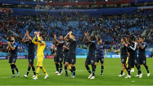 France squad Belgium World Cup 2018