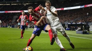 Juanfran, Atletico Madrid, Karim Benzema, Real Madrid