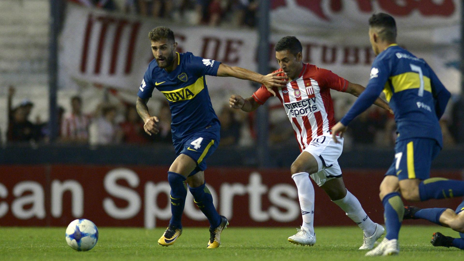 Gino Peruzzi Estudiantes Boca Superliga 2017/18