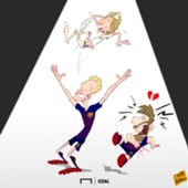 Cartoon Modric the best