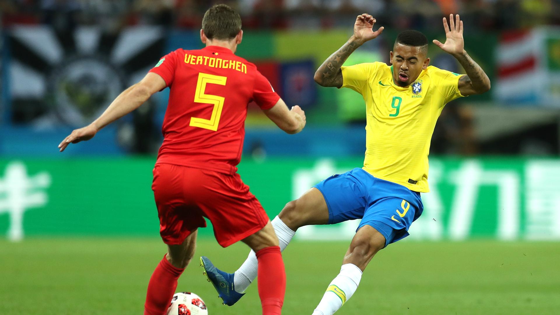 Gabriel Jesus I Brasil Bélgica I 06 07 18 I Copa do Mundo