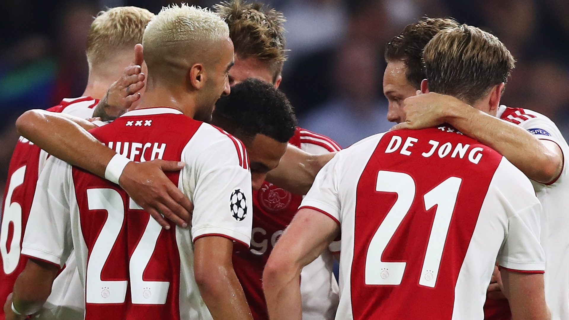 Ajax Champions League 29 08 2018
