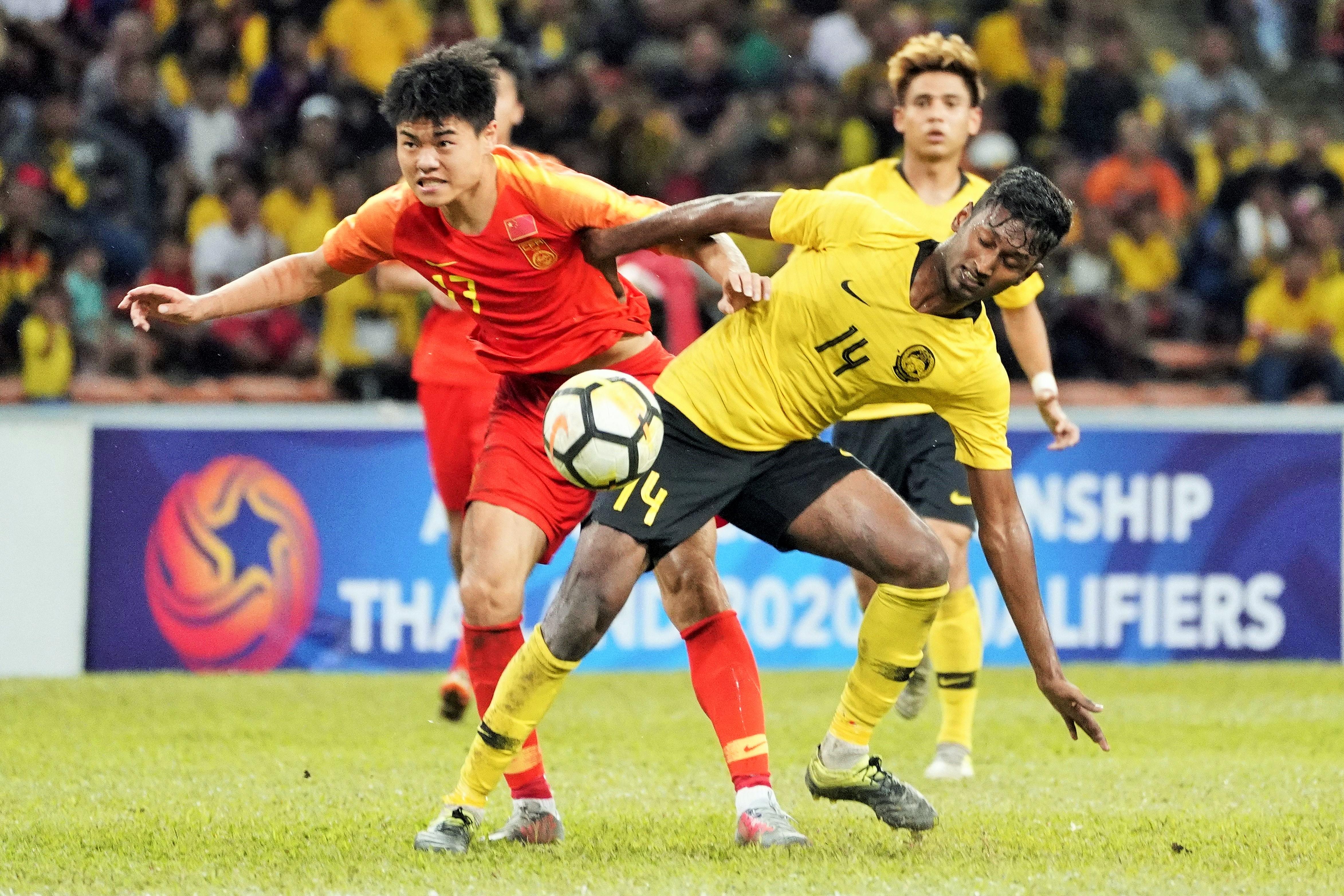 Syamer Kutty Abba, Malaysia U-23, AFC U23 Championship qualifiers, 26032019