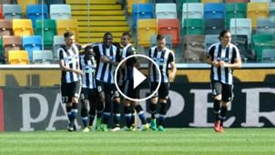 Duván Zapata Udinese play