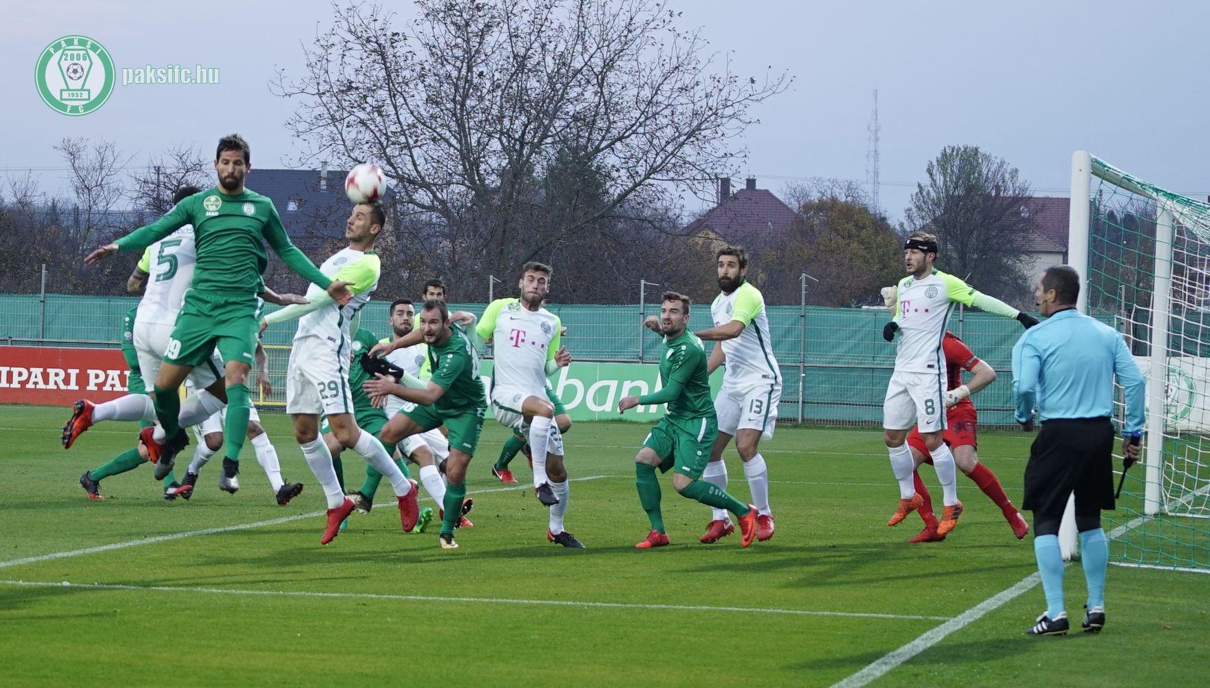 Paks Ferencváros meccskép