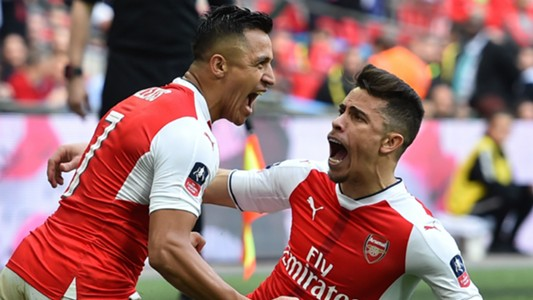 Alexis Sanchez Arsenal FA Cup