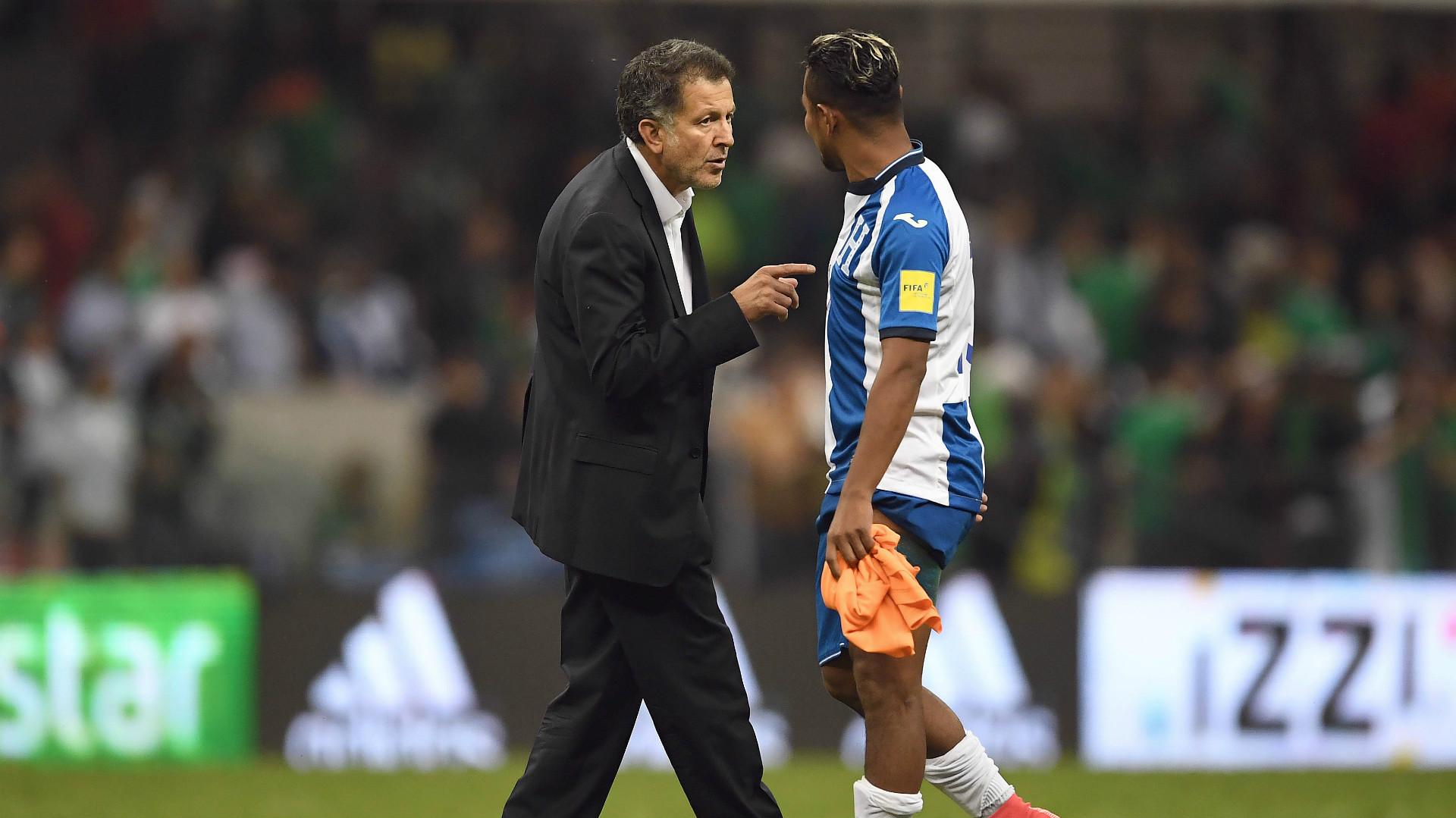 Juan Carlos Osorio Mexico Mario Martinez Honduras