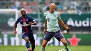 Arjen Robben Bayern Munich PSG ICC 2018