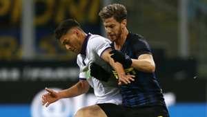 Joshua Perez Ansaldi Inter Fiorentina Serie A