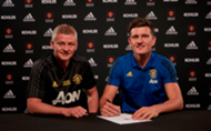 Ole Gunnar Solskjaer/Harry Maguire Manchester United
