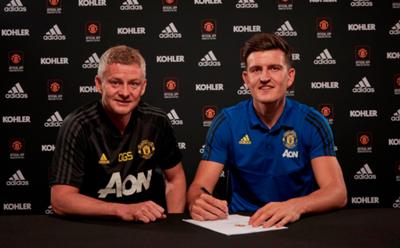 Ole Gunnar Solskjaer/Harry Maguire Manchester United