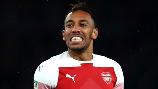 Pierre-Emerick Aubameyang Arsenal 2018