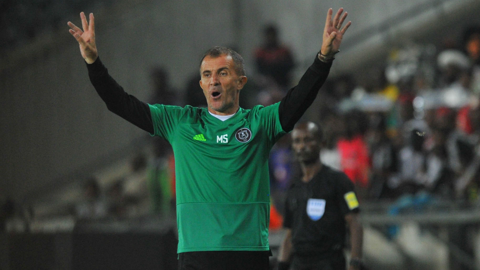Milutin Sredojevic, Orlando Pirates, February 2019