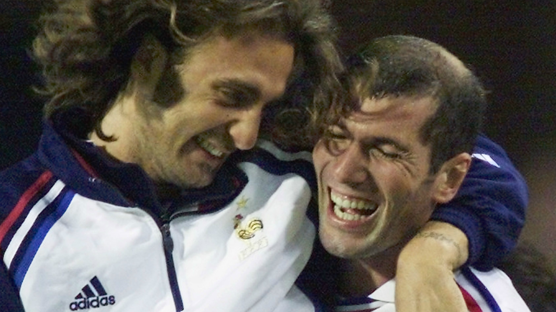 Christophe Dugarry Zinedine Zidane