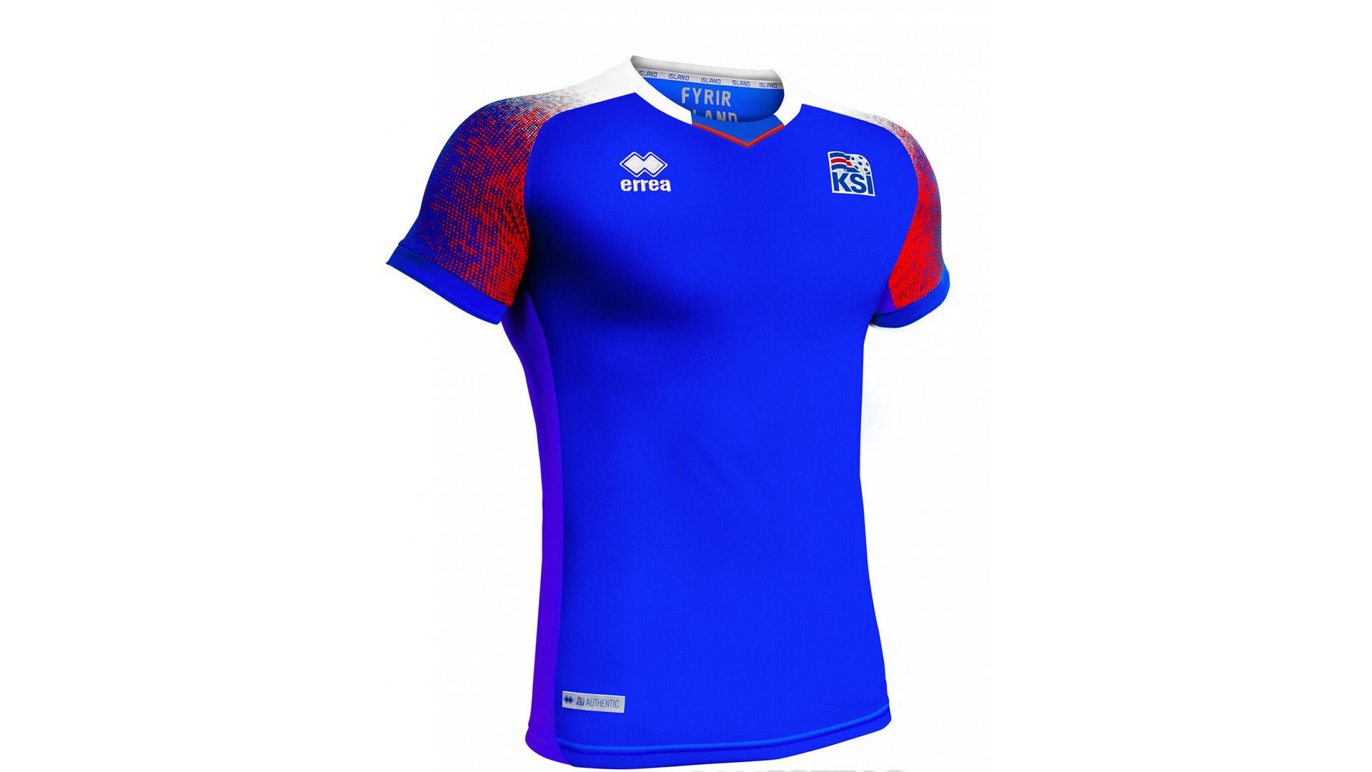 Islandia Camiseta Titula 2018 Iceland Home Kit