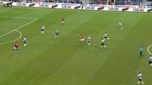 Paul Pogba Manchester United Foul Newcastle