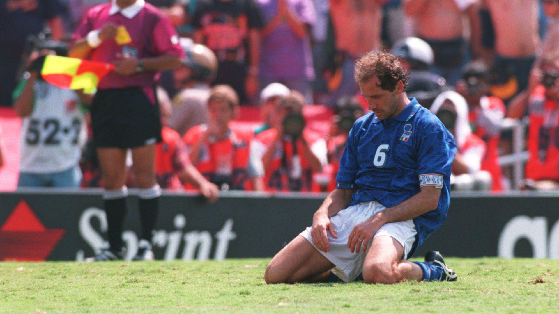 Baresi Brasil penalty 1994