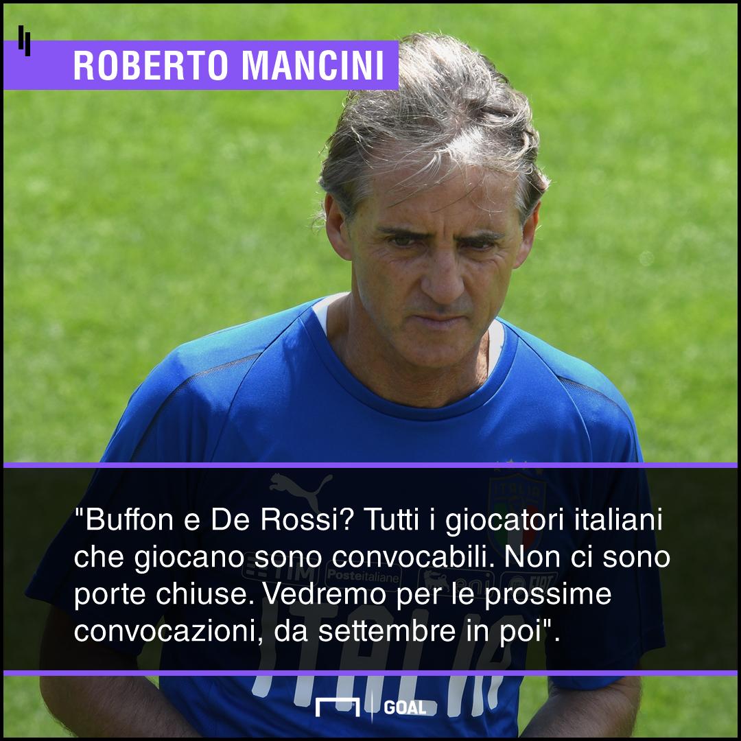 Mancini | La conferenza stampa del nuovo ct della Nazionale italiana