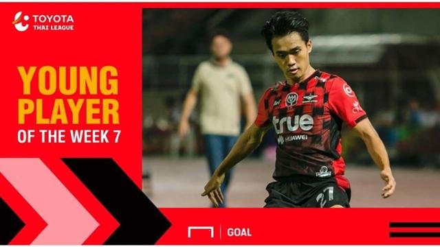 ผลการค้นหารูปภาพสำหรับ Toyota Thai League Young Player of the Week 7 : อานนท์ อมรเลิศศักดิ์