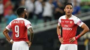 Aubameyang Lacazette Chelsea Arsenal