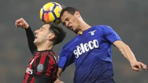 Nikola Kalinic Luiz Felipe Milan Lazio Coppa Italia