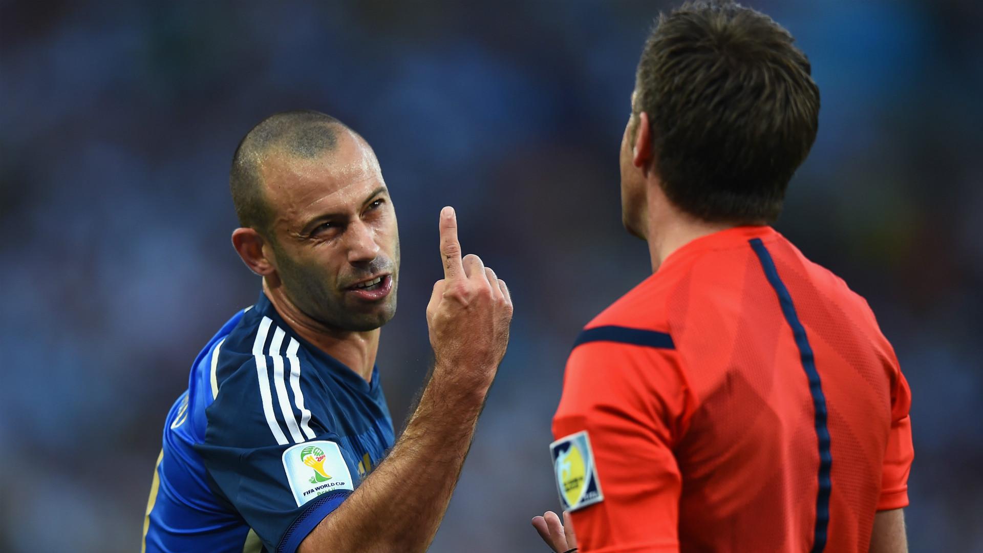 Javier Mascherano Argentina FIFA World Cup 2014
