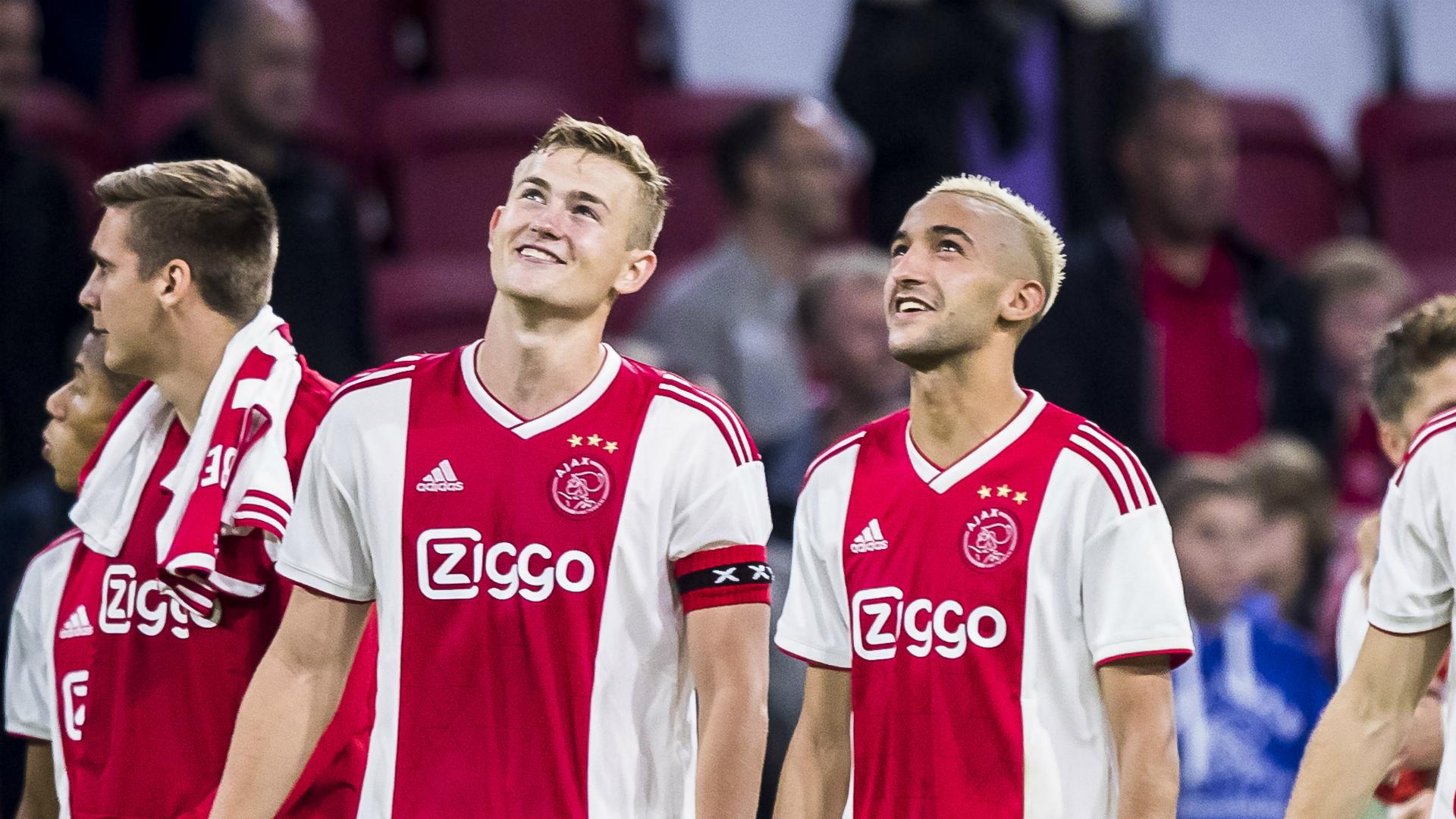Matthijs de Ligt, Hakim Ziyech, Ajax, 09152018