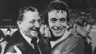 Bob Paisley Ian Callaghan Liverpool European Cup 1977