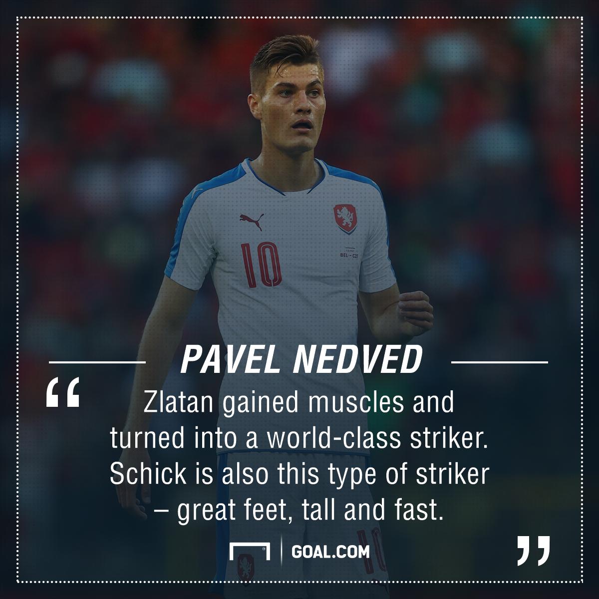 Patrik Schick Nedved Ibrahimovic PS