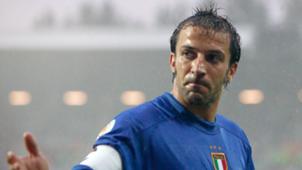 Euro 2004 Italy Sweden Del Piero