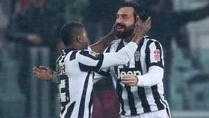 Pirlo Evra Juventus