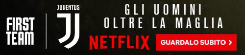 Juventus Netflix banner