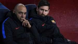 Lionel Messi Barcelona Sporting Champions League