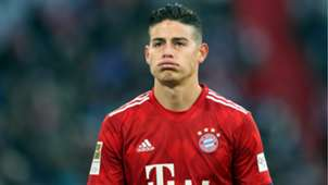 James Rodriguez Bayern Munich Hertha Bundesliga 2019