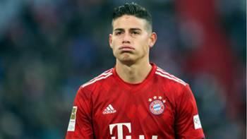 James Rodriguez Bayern Munich Hertha Bundesliga 2019