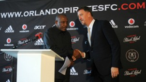 Pirates, Irvin Khoza & & Kjell Jonevret