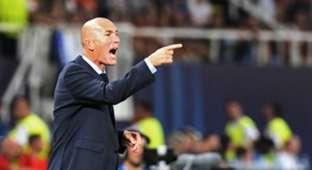 Zinedine Zidane Real Madrid Manchester United UEFA Super Cup