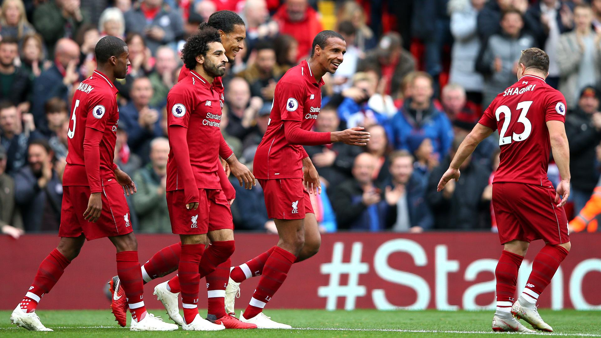 FC Liverpool Southampton Premier League 220918